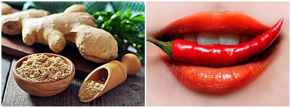 gengibre-pimenta-afrodisíacos