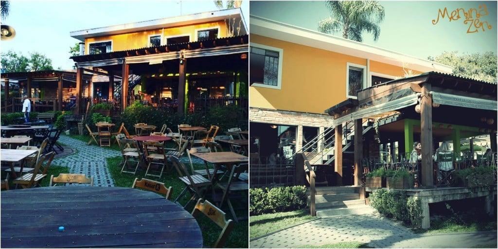 Bares e Restaurantes com ambiente externo - Menina Zen