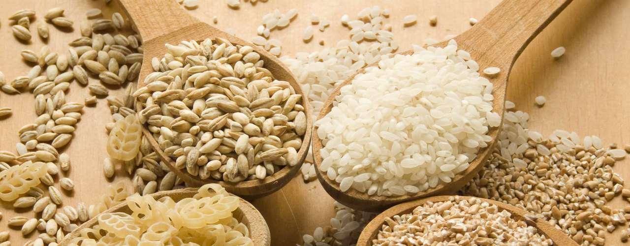 arroz branco e integral