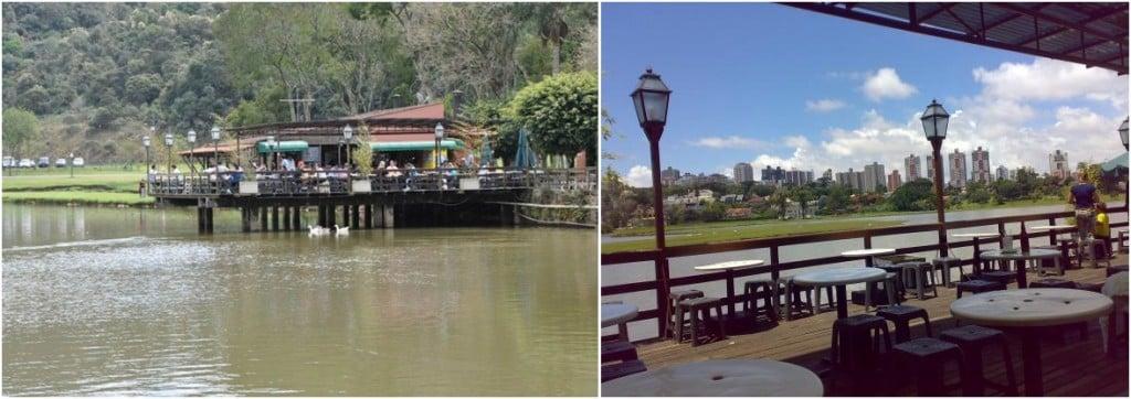 Bares e Restaurantes com ambiente externo em Curitiba - bar do lago-horz