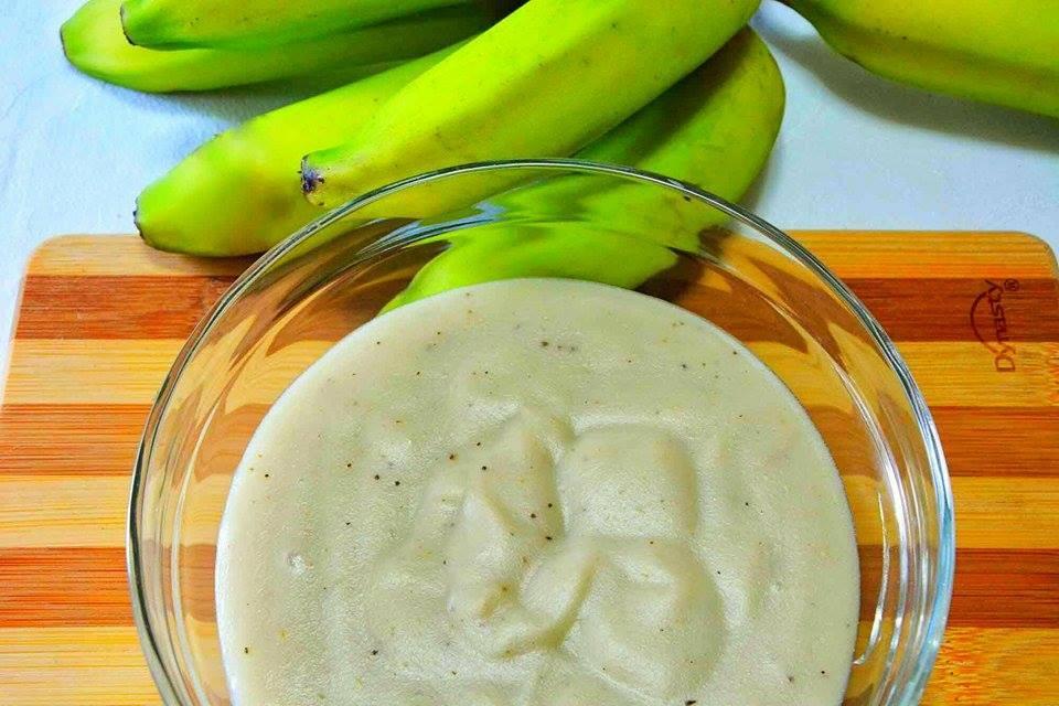 banana verde biomassa