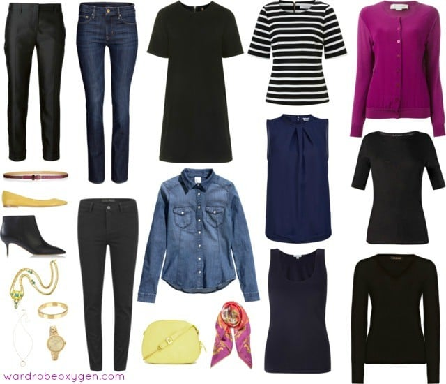 casual-capsule-wardrobe-over-40-jeans-denim-640x550