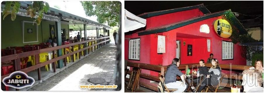 Bares e Restaurantes com ambiente externo em Curitiba - Jabuti bar e Bom Scotch bar