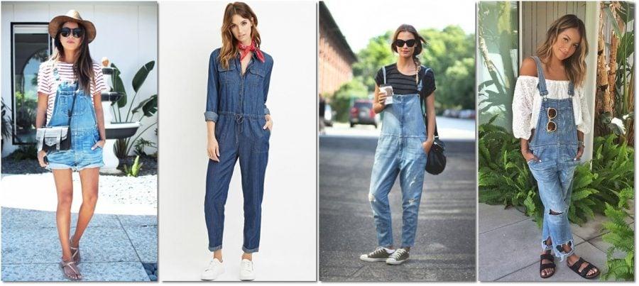 macacão jeans - 010