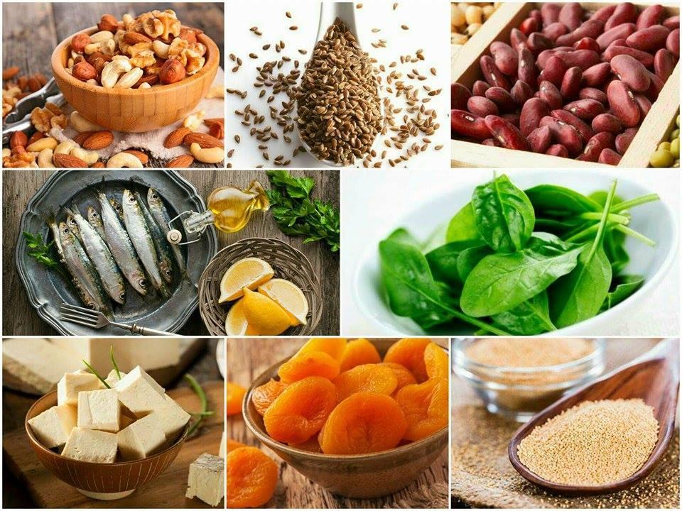 calcio de origem vegetal