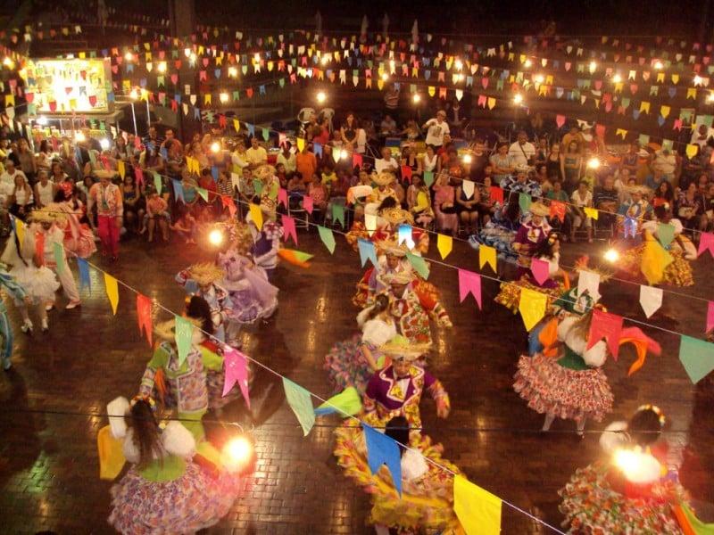 festa junina dança