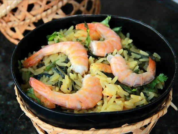 arroz de tacacá