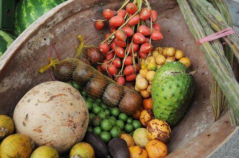 Frutas do Amazonas