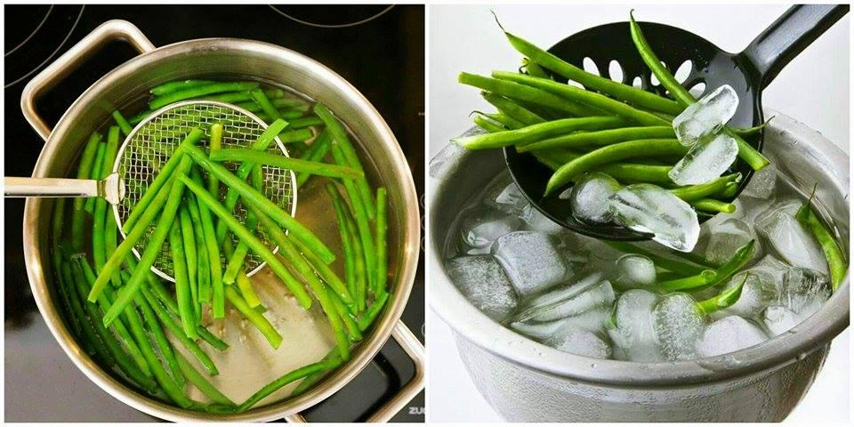 Congelamento de Alimentos Branqueamento