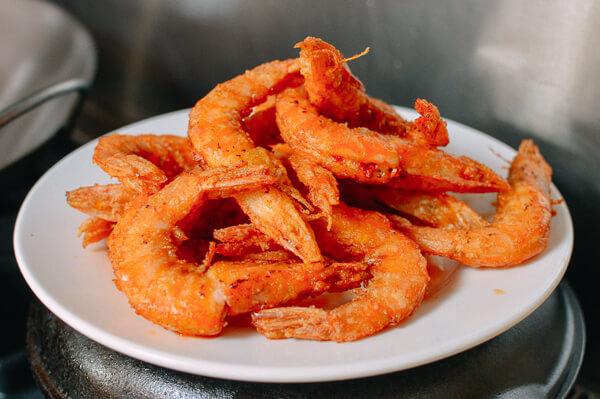camarão frito à meaípe