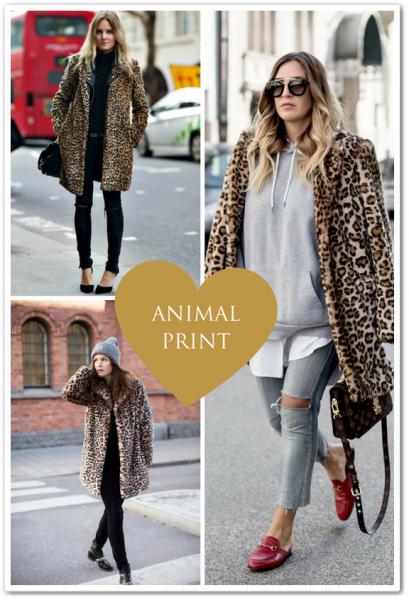 casaco de pelo - animal print
