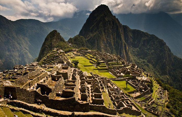 Machu Picchu viewed from Guardhouse