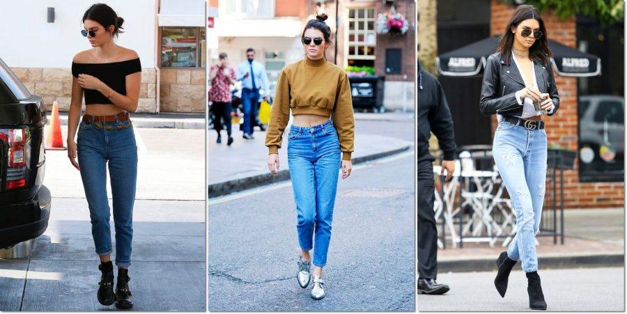 como usar mom jeans - kendal