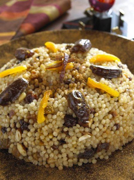 cuscuz marroquino doce