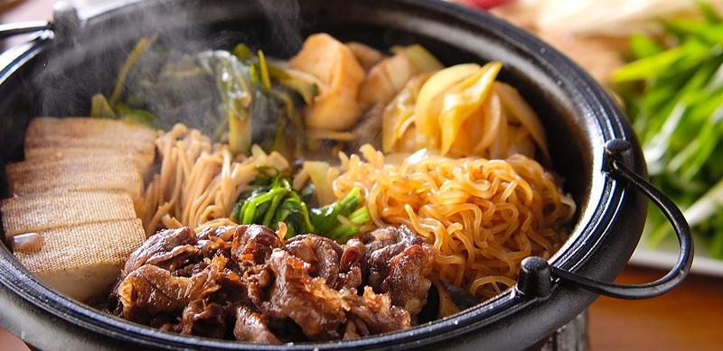 sukiyaki de carne