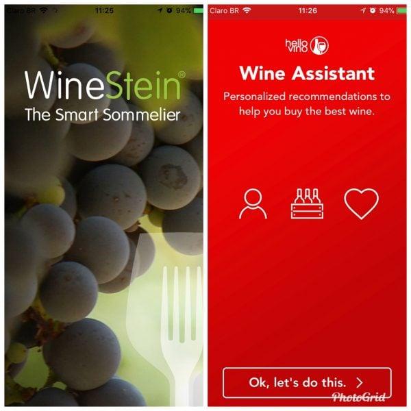 Aplicativos de vinho