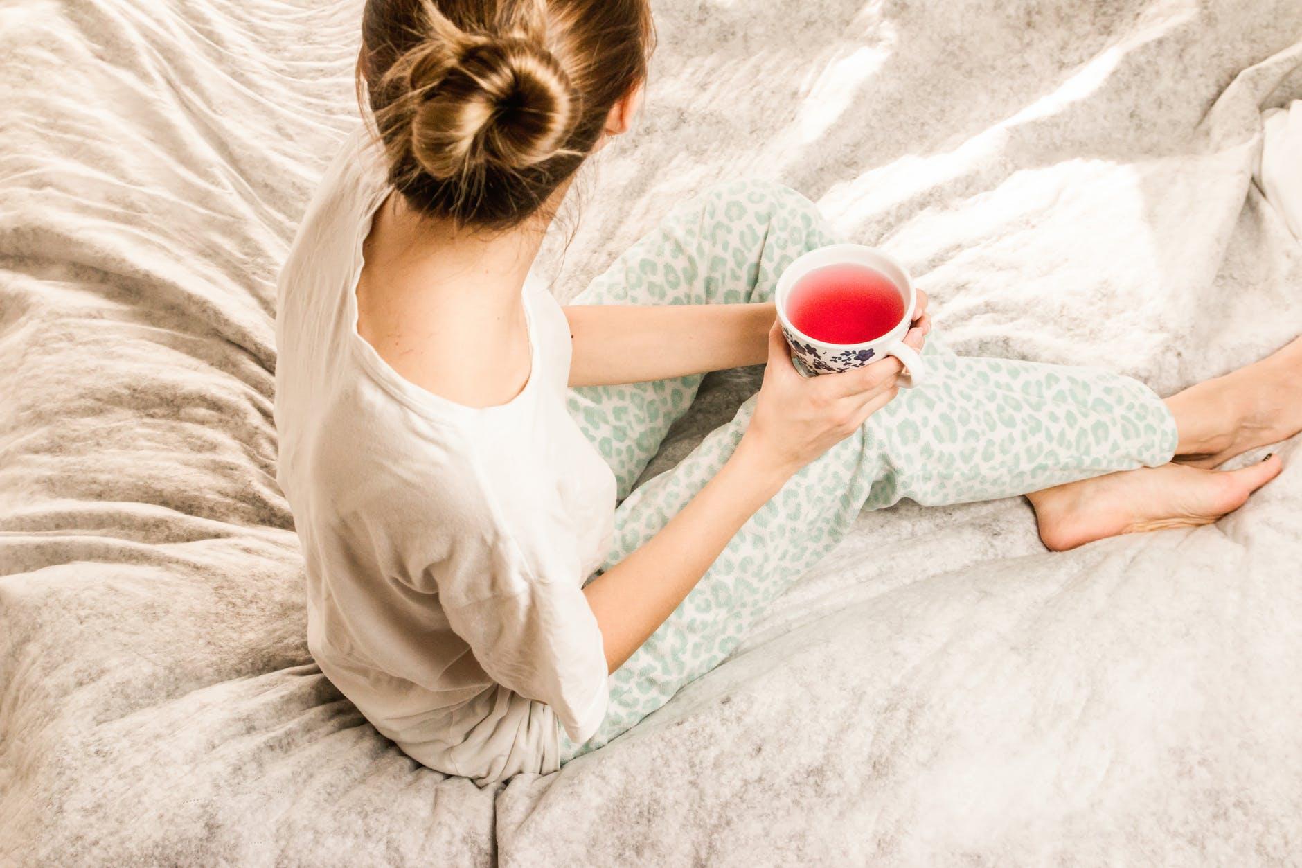 Chá para Diminuir a Cólica Menstrual