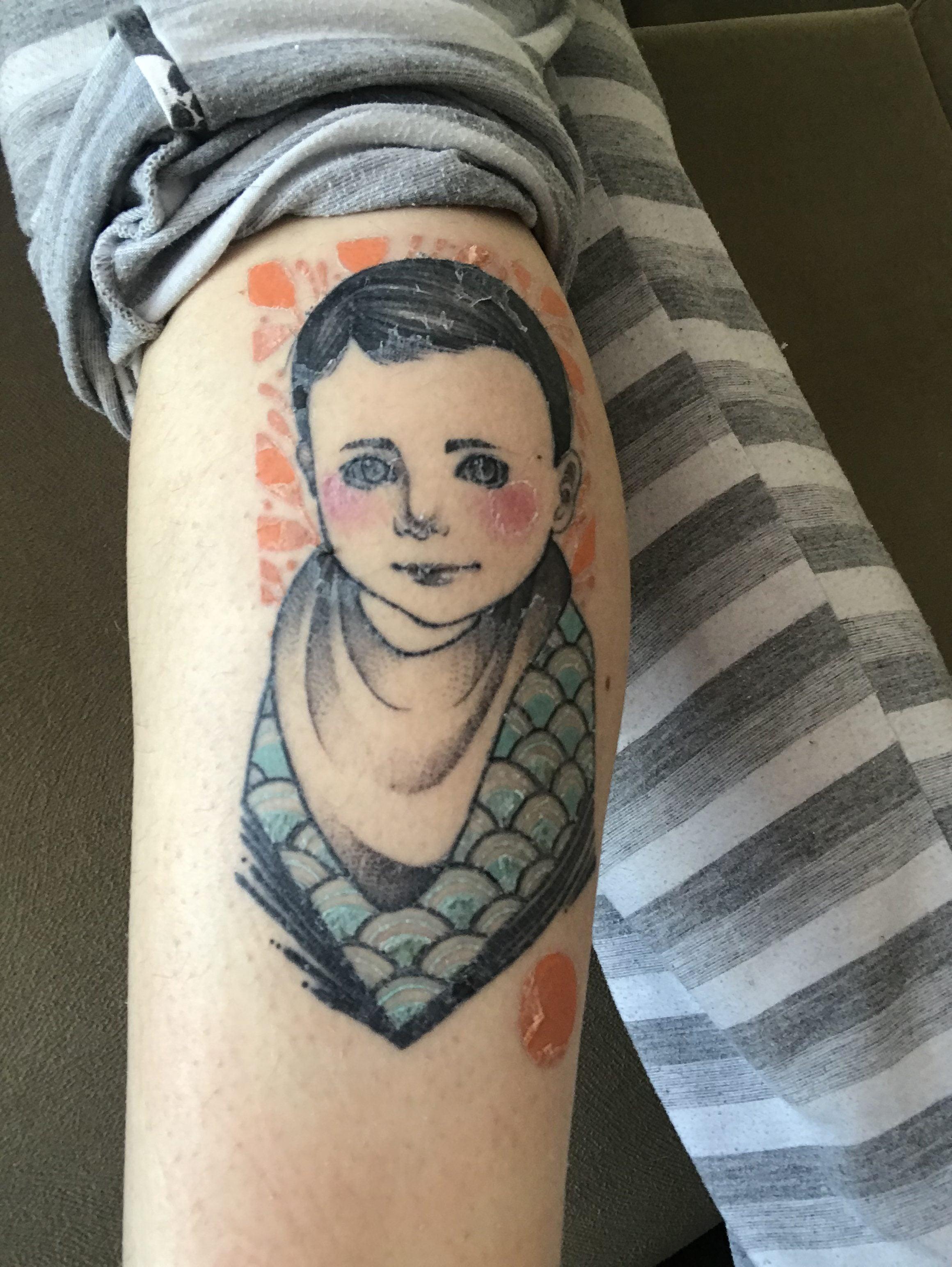 A Tatuagem Por Trás Do Plástico Filme Arquitetando Estilos