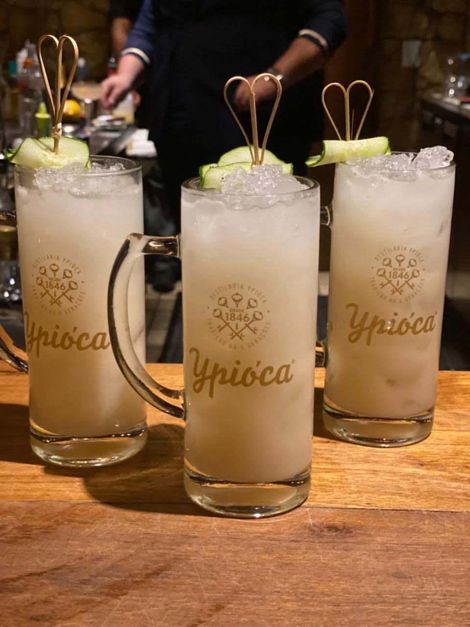 drinks com cachaça