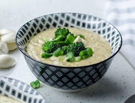 sopas saudáveis - sopa saudável cremosa de brócolis