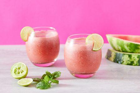 suco de melancia para diminuir o inchaço