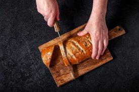pão de batata-doce sem farinha